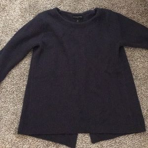 Banana republic sweater with open back